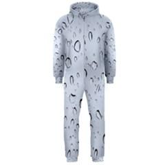 WATER DROPS 2 Hooded Jumpsuit (Men)  by trendistuff