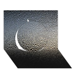 Water Drops 1 Circle 3d Greeting Card (7x5)