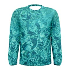 TURQUOISE WATER Men s Long Sleeve T-shirts by trendistuff