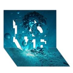 Sun Bubbles Love 3d Greeting Card (7x5)  by trendistuff
