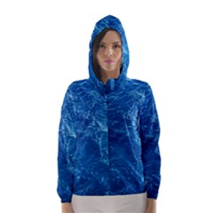 Pacific Ocean Hooded Wind Breaker (women) by trendistuff