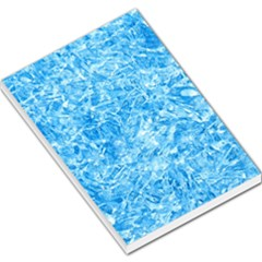 Blue Ice Crystals Large Memo Pads by trendistuff