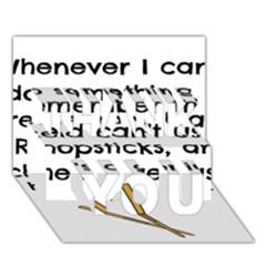 Reid s Chapsticks Thank You 3d Greeting Card (7x5)