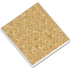 Tan Diamond Brick Small Memo Pads