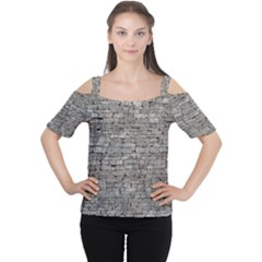 Women s Cutout Shoulder Tee by trendistuff