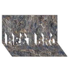 Rusty Stone Best Bro 3d Greeting Card (8x4)  by trendistuff