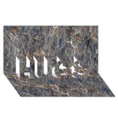 Rusty Stone Hugs 3d Greeting Card (8x4)