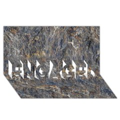 Rusty Stone Engaged 3d Greeting Card (8x4)  by trendistuff