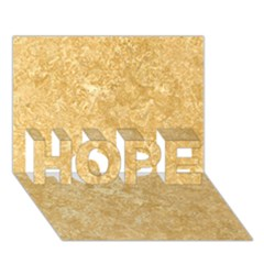 Noce Travertine Hope 3d Greeting Card (7x5)  by trendistuff