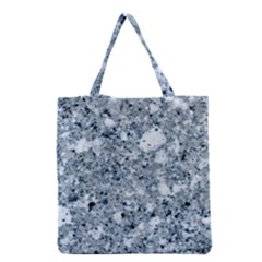 Marble Light Grey Grocery Tote Bags by trendistuff