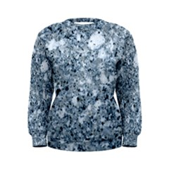 Marble Light Grey Women s Sweatshirts by trendistuff