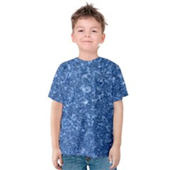 Marble Blue Kid s Cotton Tee