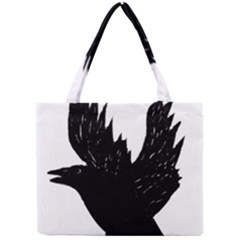 Crow Tiny Tote Bags by JDDesigns