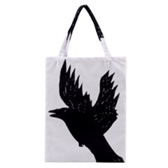 Crow Classic Tote Bags by JDDesigns