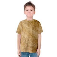 Granite Brown 2 Kid s Cotton Tee
