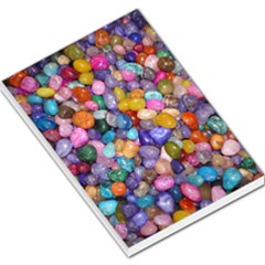Colored Pebbles Large Memo Pads by trendistuff