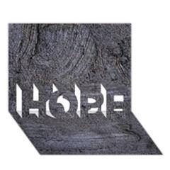 Blue Stucco Texture Hope 3d Greeting Card (7x5)