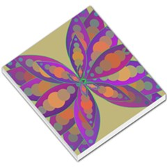 Fly Mandala Small Memo Pads by Valeryt