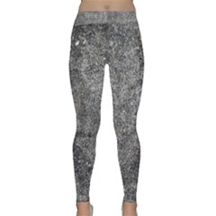 Black Mica Yoga Leggings by trendistuff