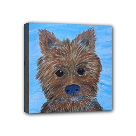 Puppy Pals Mini Canvas 4  X 4