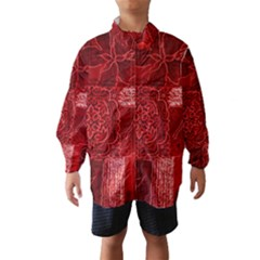 Red Patchwork Wind Breaker (kids)