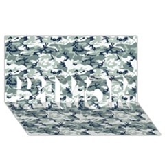 Camo Urban #1 Mom 3d Greeting Cards (8x4)