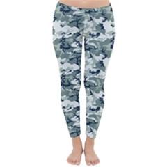 CAMO URBAN Winter Leggings  by trendistuff