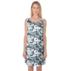 Sleeveless Satin Nightdress by trendistuff