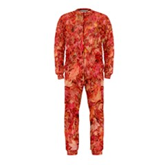 RED MAPLE LEAVES OnePiece Jumpsuit (Kids) by trendistuff