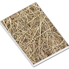 Light Colored Straw Large Memo Pads by trendistuff
