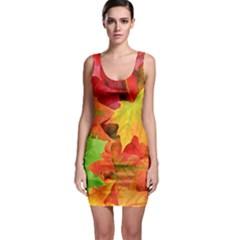 Autumn Leaves 1 Bodycon Dresses by trendistuff