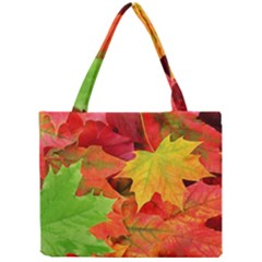 Autumn Leaves 1 Tiny Tote Bags by trendistuff