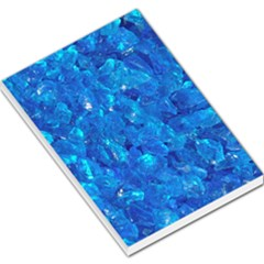 Turquoise Glass Large Memo Pads by trendistuff