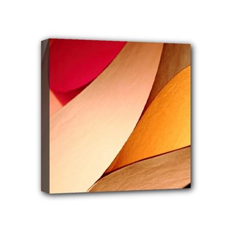 Pretty Abstract Art Mini Canvas 4  X 4  by trendistuff