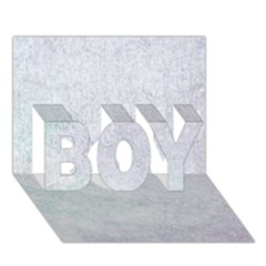 Paper Colors Boy 3d Greeting Card (7x5)