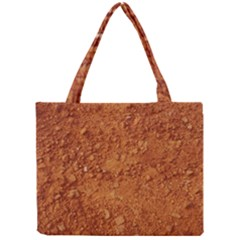 Orange Clay Dirt Tiny Tote Bags by trendistuff