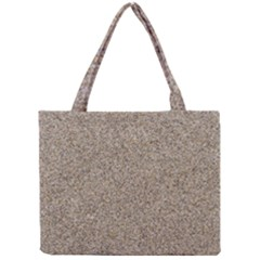 Light Beige Sand Texture Tiny Tote Bags by trendistuff