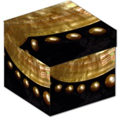 Golden Pearls Storage Stool 12   by trendistuff