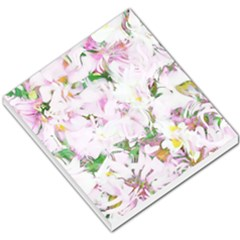 Soft Floral, Spring Small Memo Pads by MoreColorsinLife