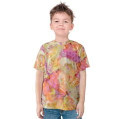 Soft Floral,roses Kid s Cotton Tee