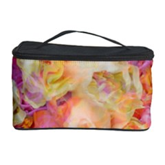 Soft Floral,roses Cosmetic Storage Cases by MoreColorsinLife