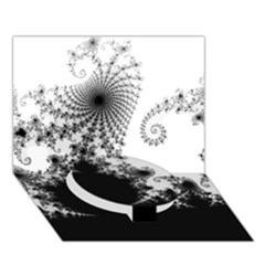 Fractal Circle Bottom 3d Greeting Card (7x5)  by trendistuff
