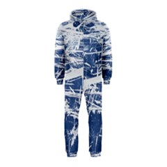BLUE AND WHITE ART Hooded Jumpsuit (Kids) by trendistuff