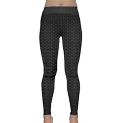 BLACK HONEYCOMB Yoga Leggings by trendistuff