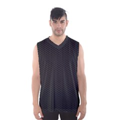 BLACK HONEYCOMB Men s Basketball Tank Top by trendistuff
