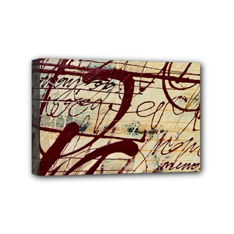Abstract 2 Mini Canvas 6  X 4  by trendistuff