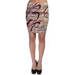 Abstract 2 Bodycon Skirts by trendistuff