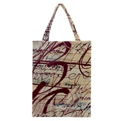Abstract 2 Classic Tote Bags by trendistuff