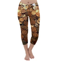 Us Coins Capri Winter Leggings