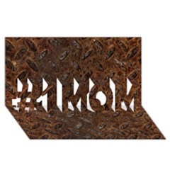Rusty Metal Pattern #1 Mom 3d Greeting Cards (8x4)